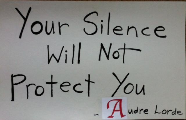 AudreLordeSilence